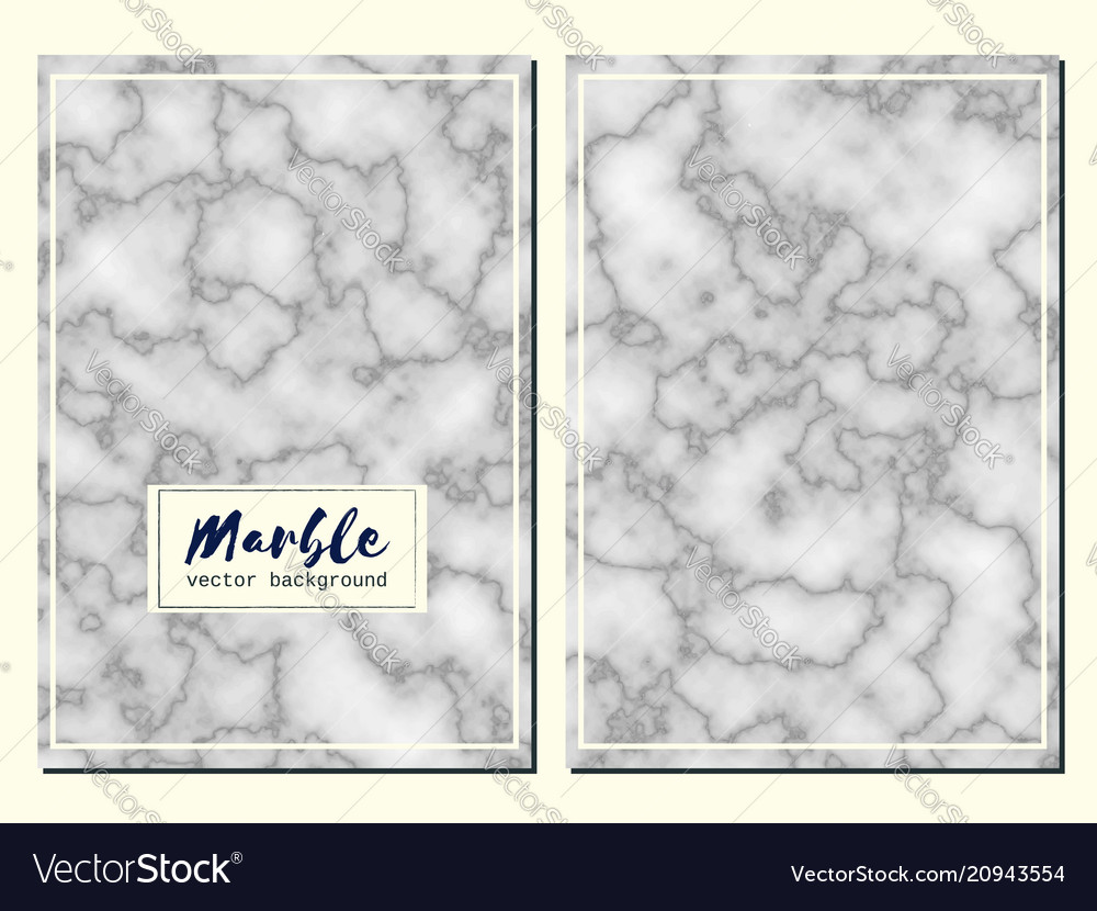 Marble hand drawn texture background card