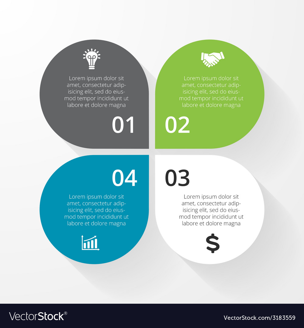 Business circle infographic diagram presentation 4
