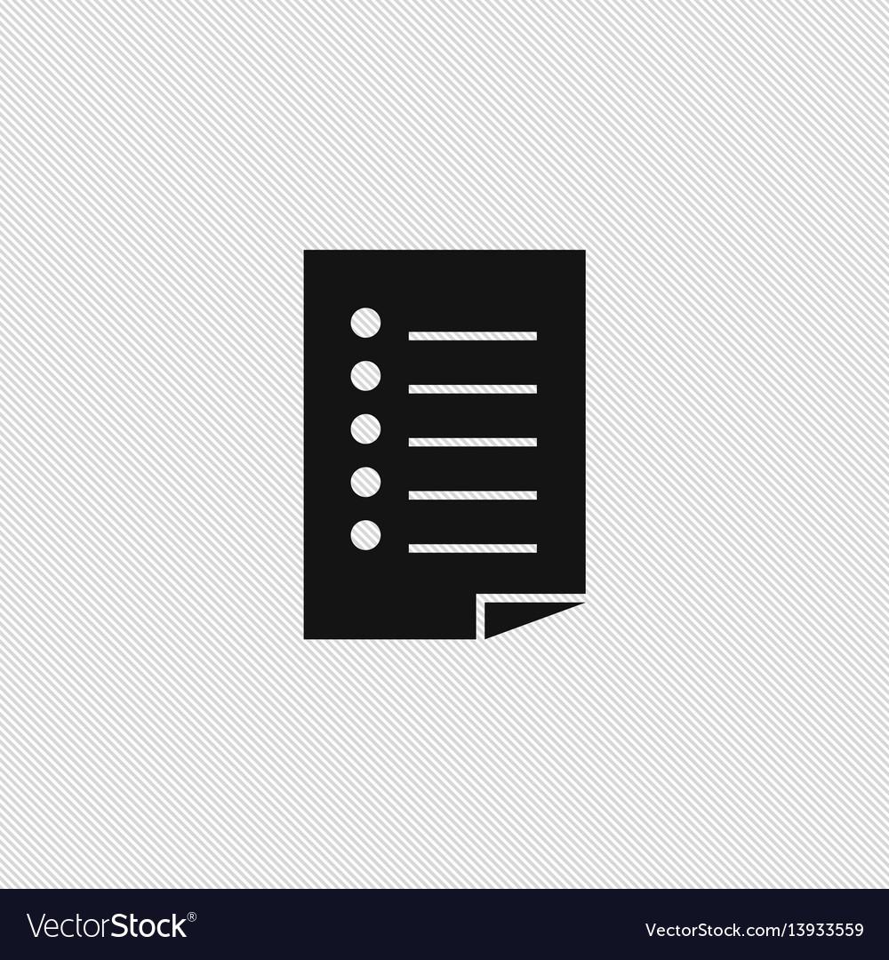 Document icon simple