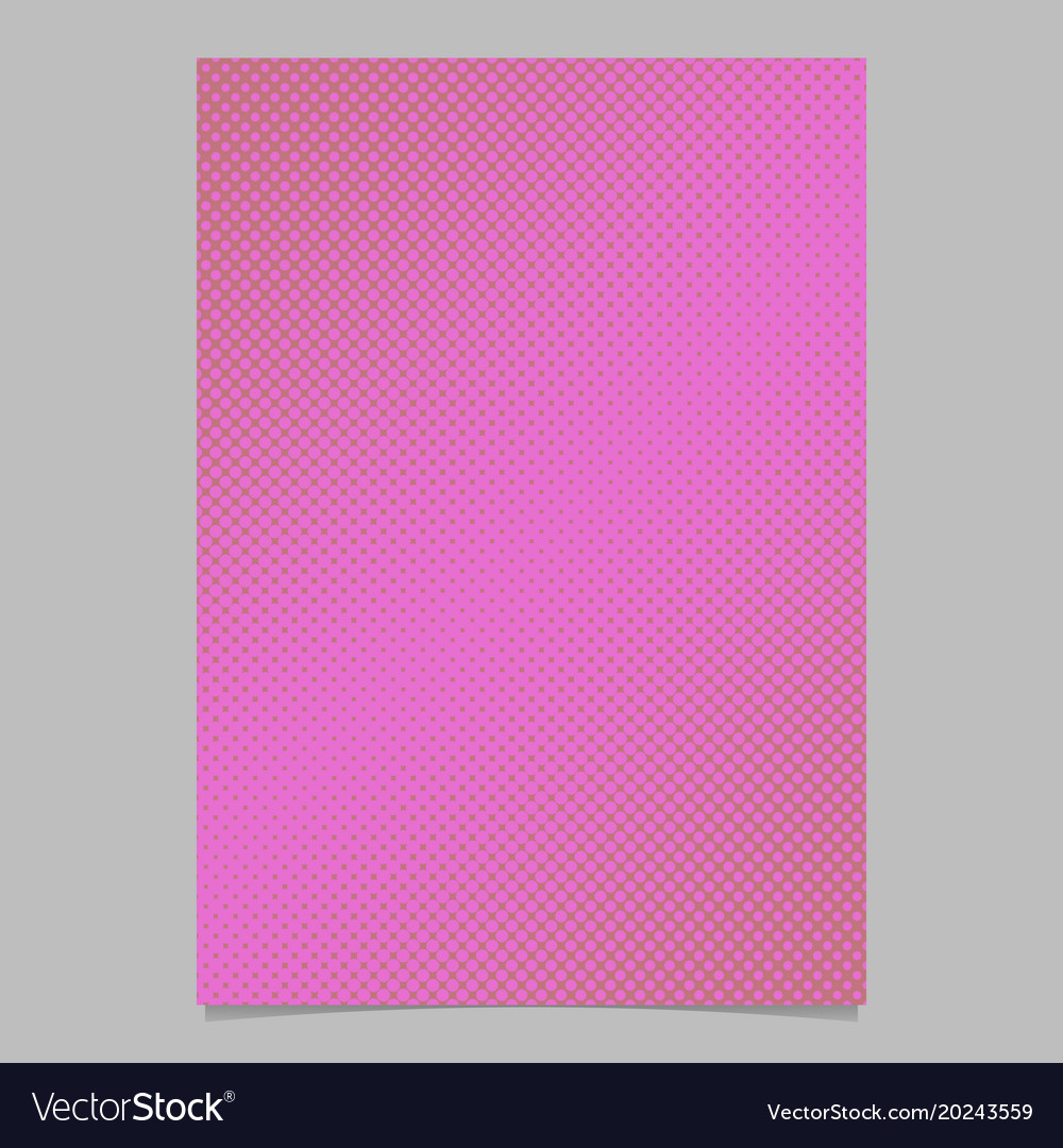 Retro abstract halftone circle pattern background