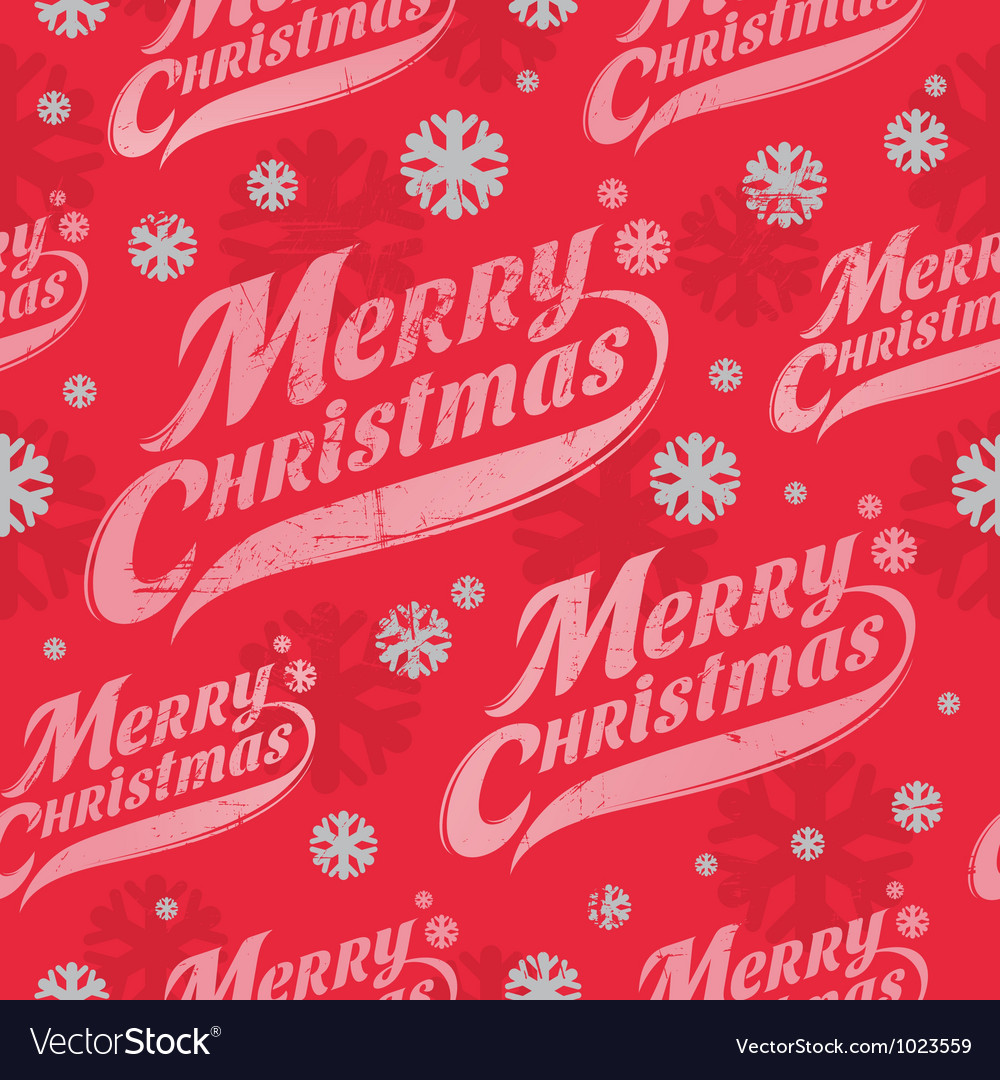 seamless background christmas wrapping paper vector image