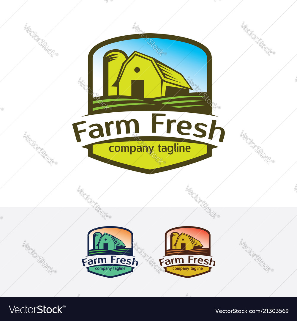 Farm fresh logo design