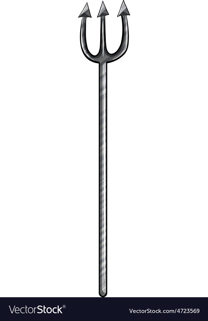 Pitchfork vector image