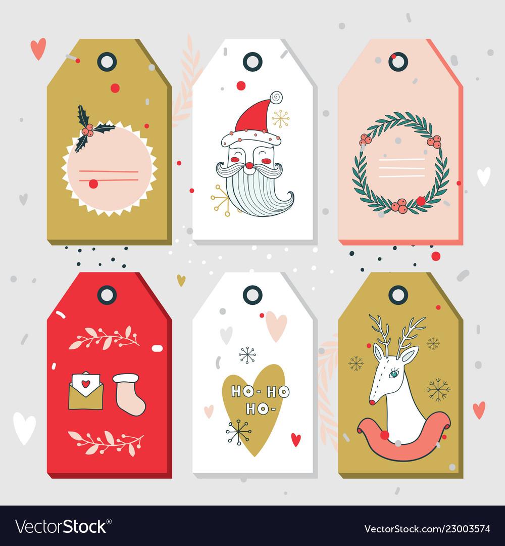 Christmas Tags.Christmas New Year Gift Tags Collection