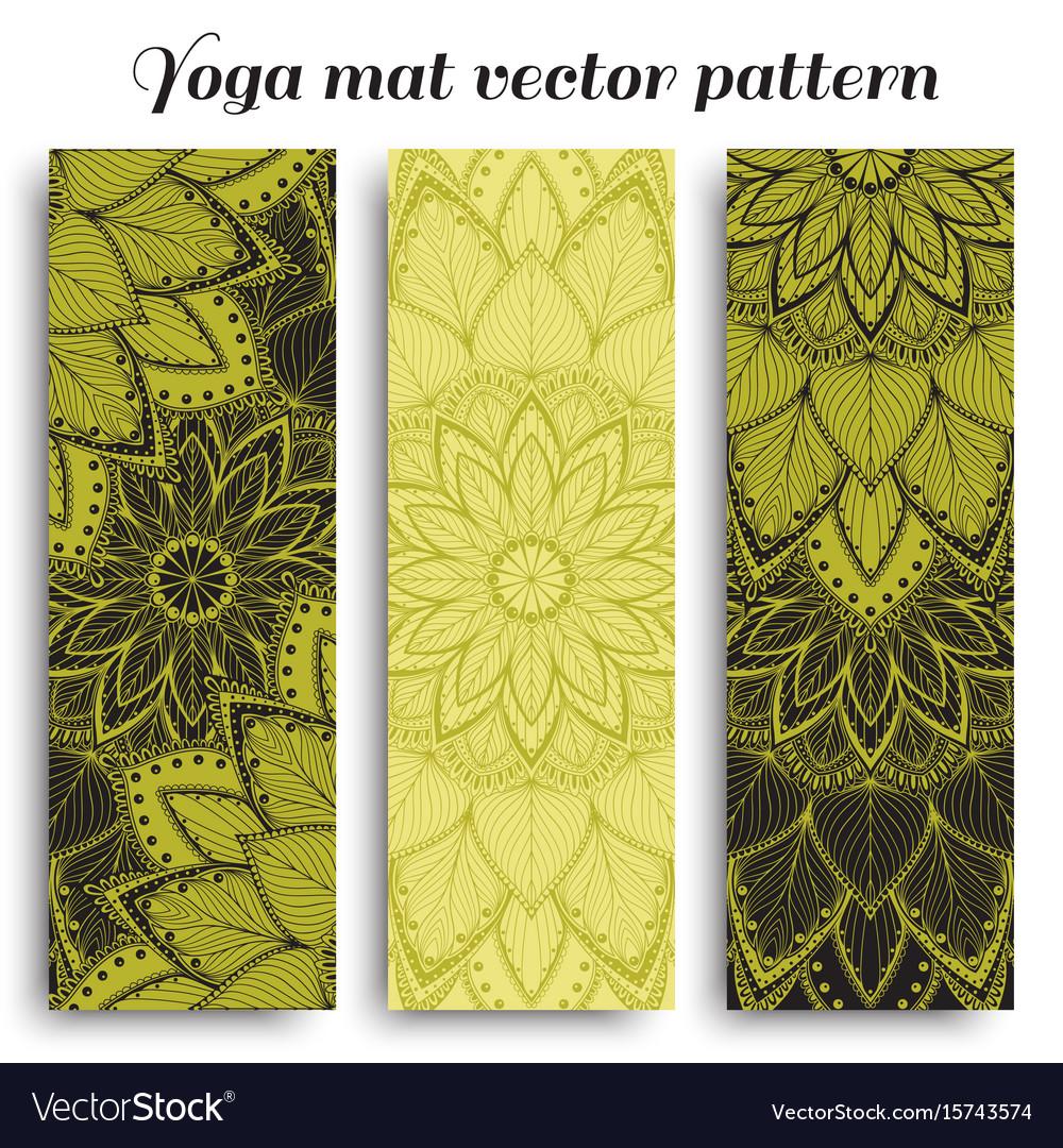 Mat for yoga fitness