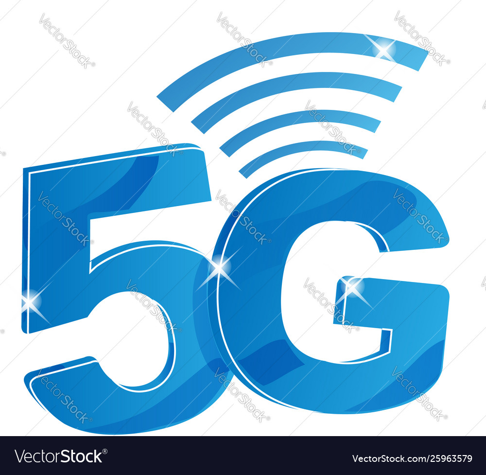 5g internet network logo isolated icon for 5 g