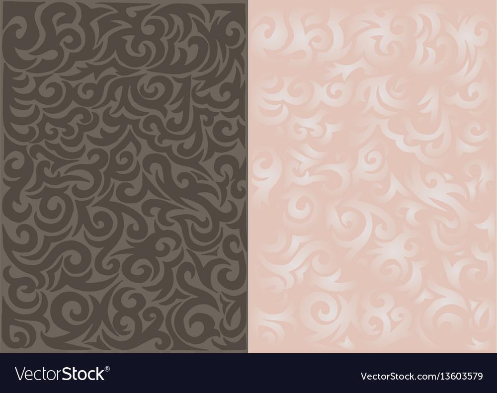 Curls pattern background - pattern