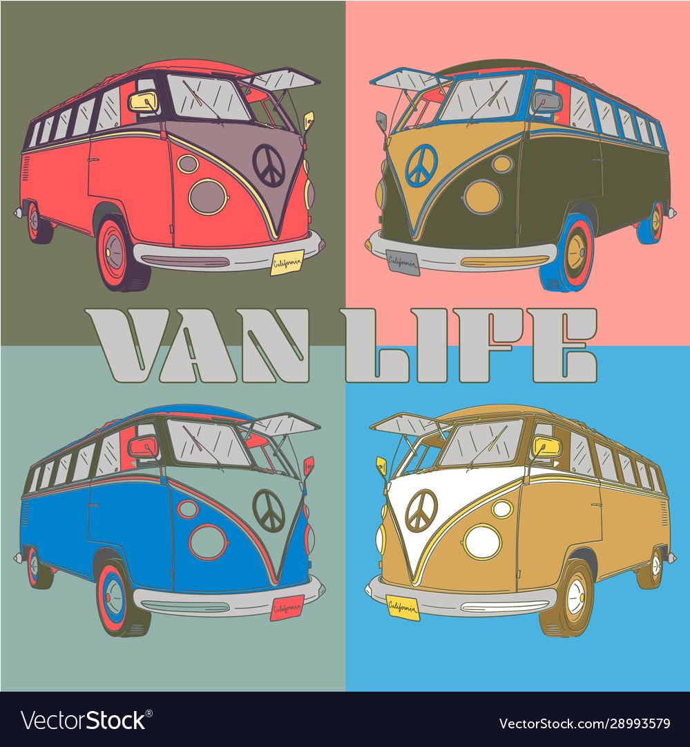 Retro van life
