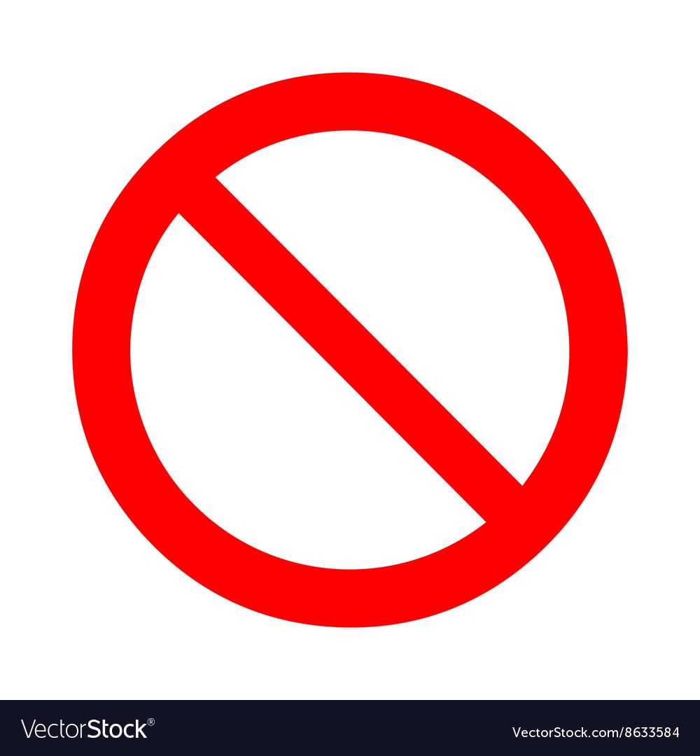Forbid Sign