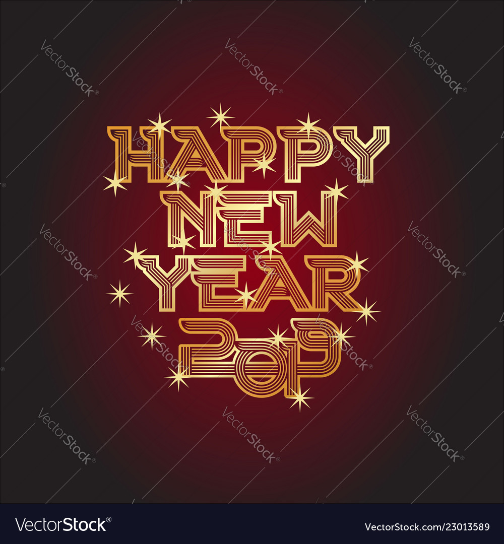 Happy new year and star
