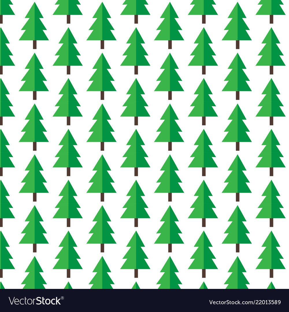 Christmas Tree Pattern.Pattern Background Christmas Tree Icon