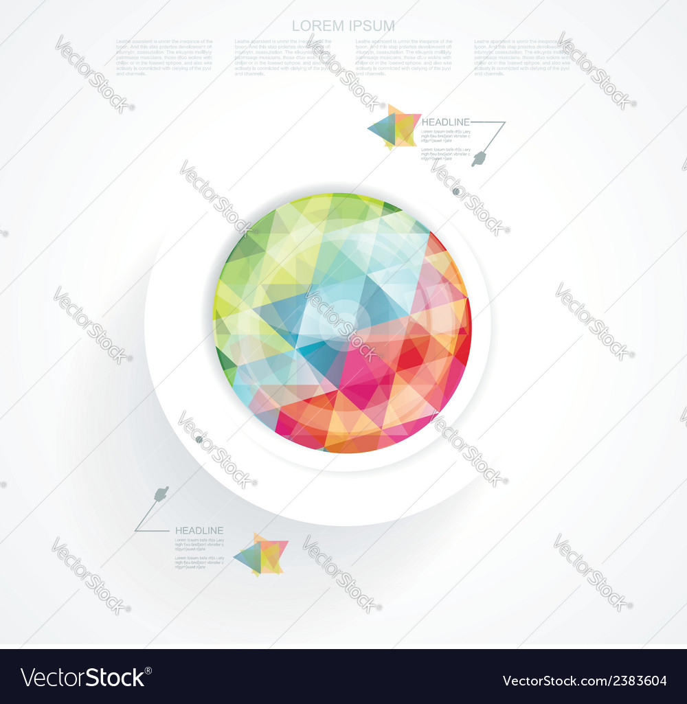 Business Abstract Circle icon