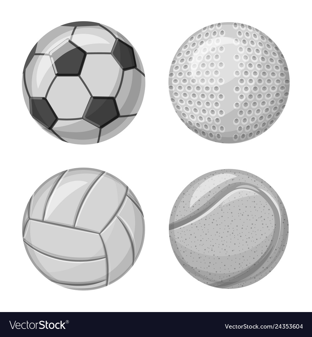 Sport and ball sign