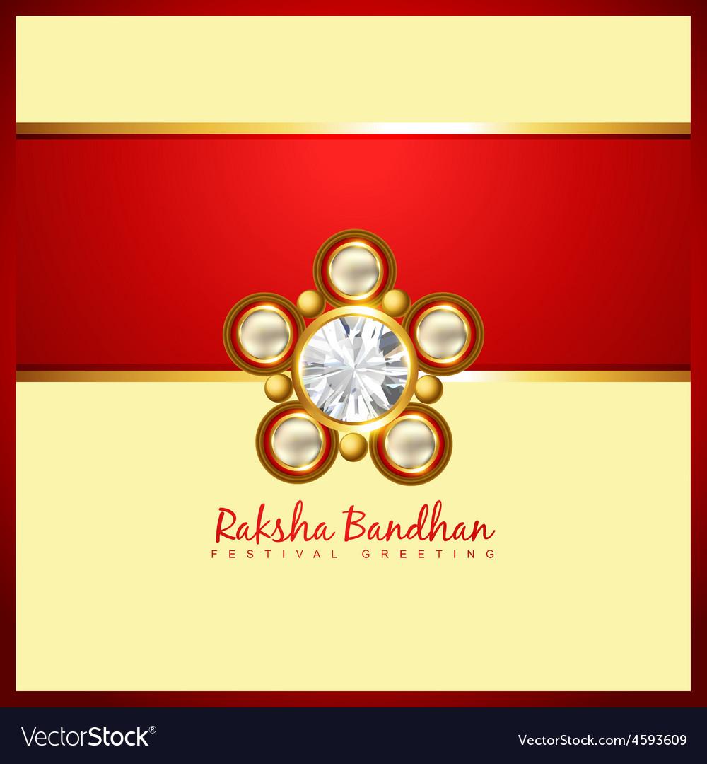 Beautiful rakhi background