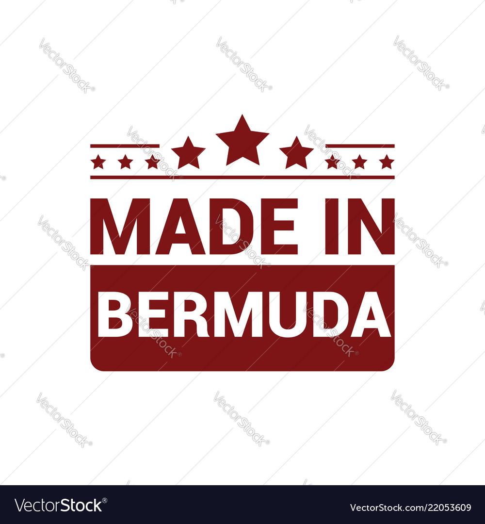 Bermuda stamp design