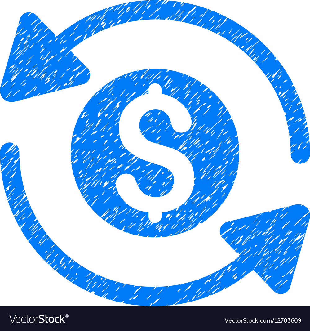Money Turnover Grainy Texture Icon