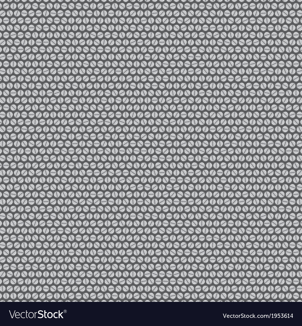 Background made gray bolts