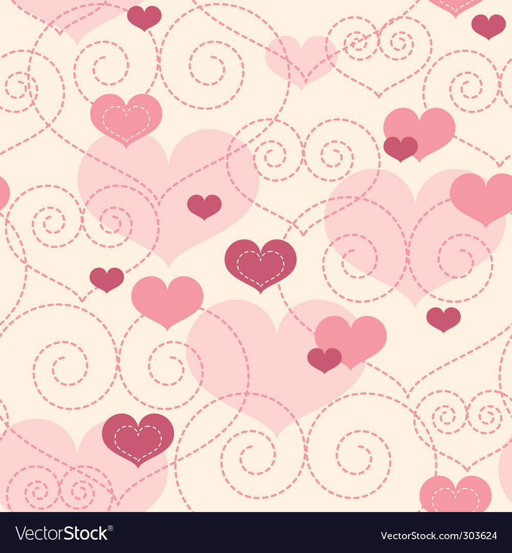 Lovely Background Royalty Free Vector Image Vectorstock