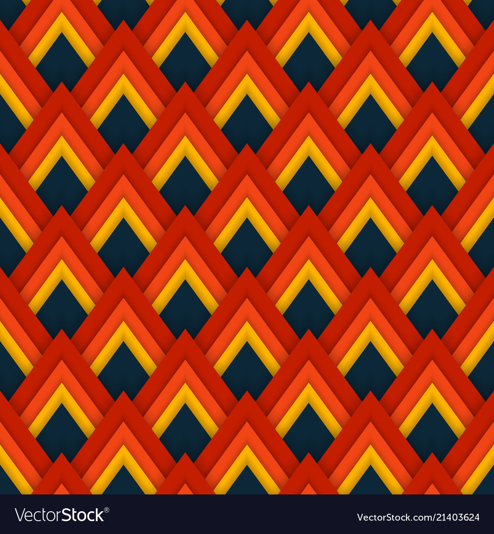 Pattern seamless pattern with red rhombuses