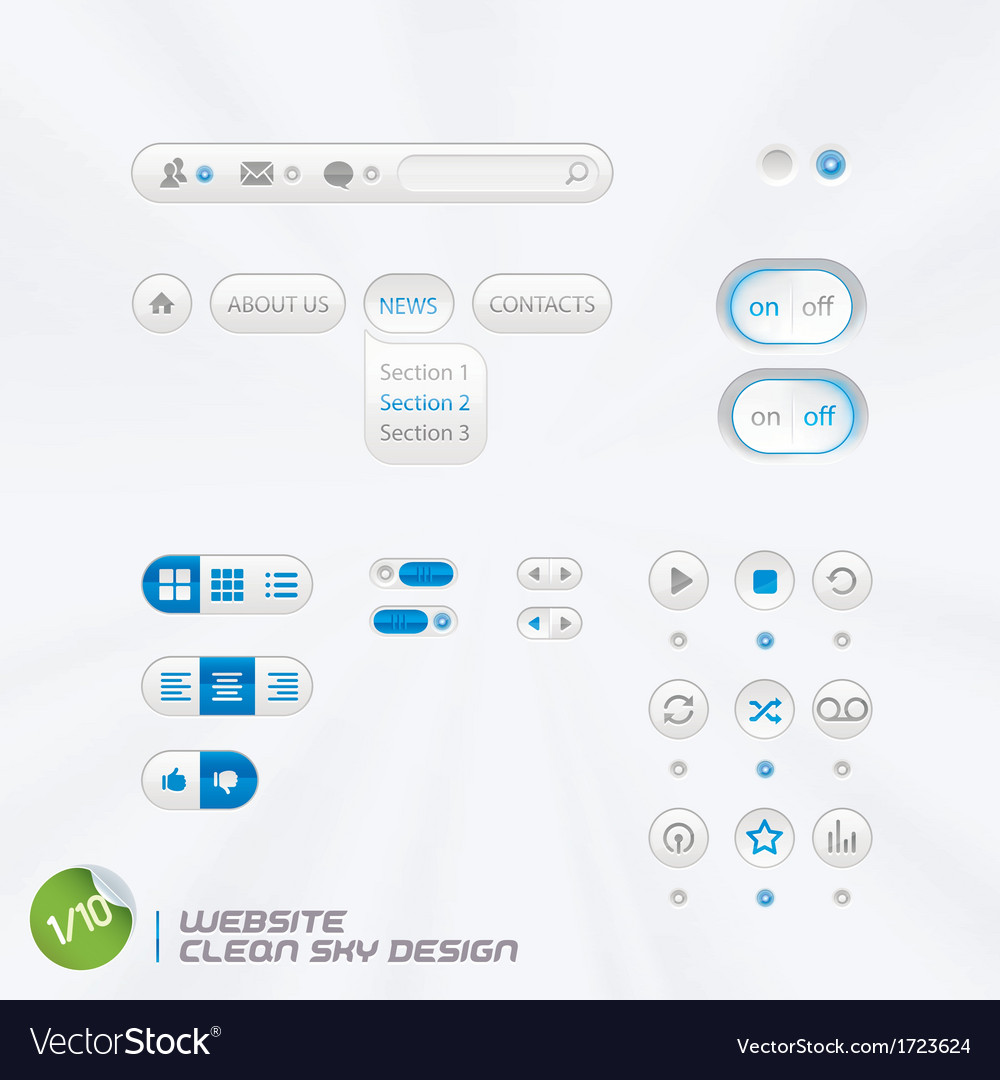 Website Clean Sky Design