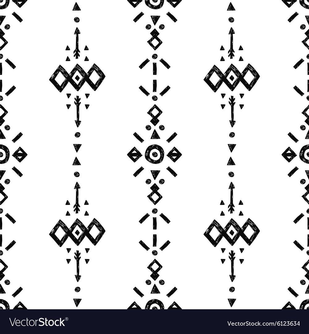 Tribal Hand Drawn Background