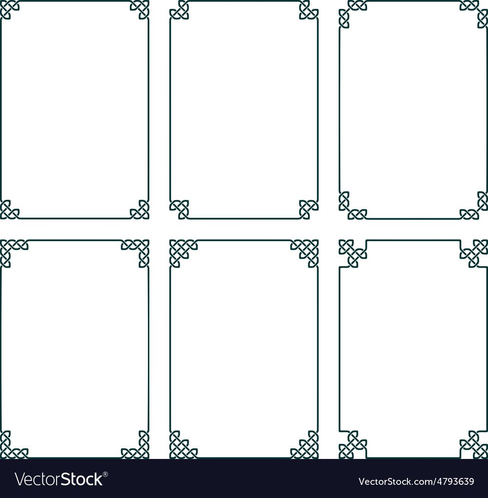 Celtic Frames