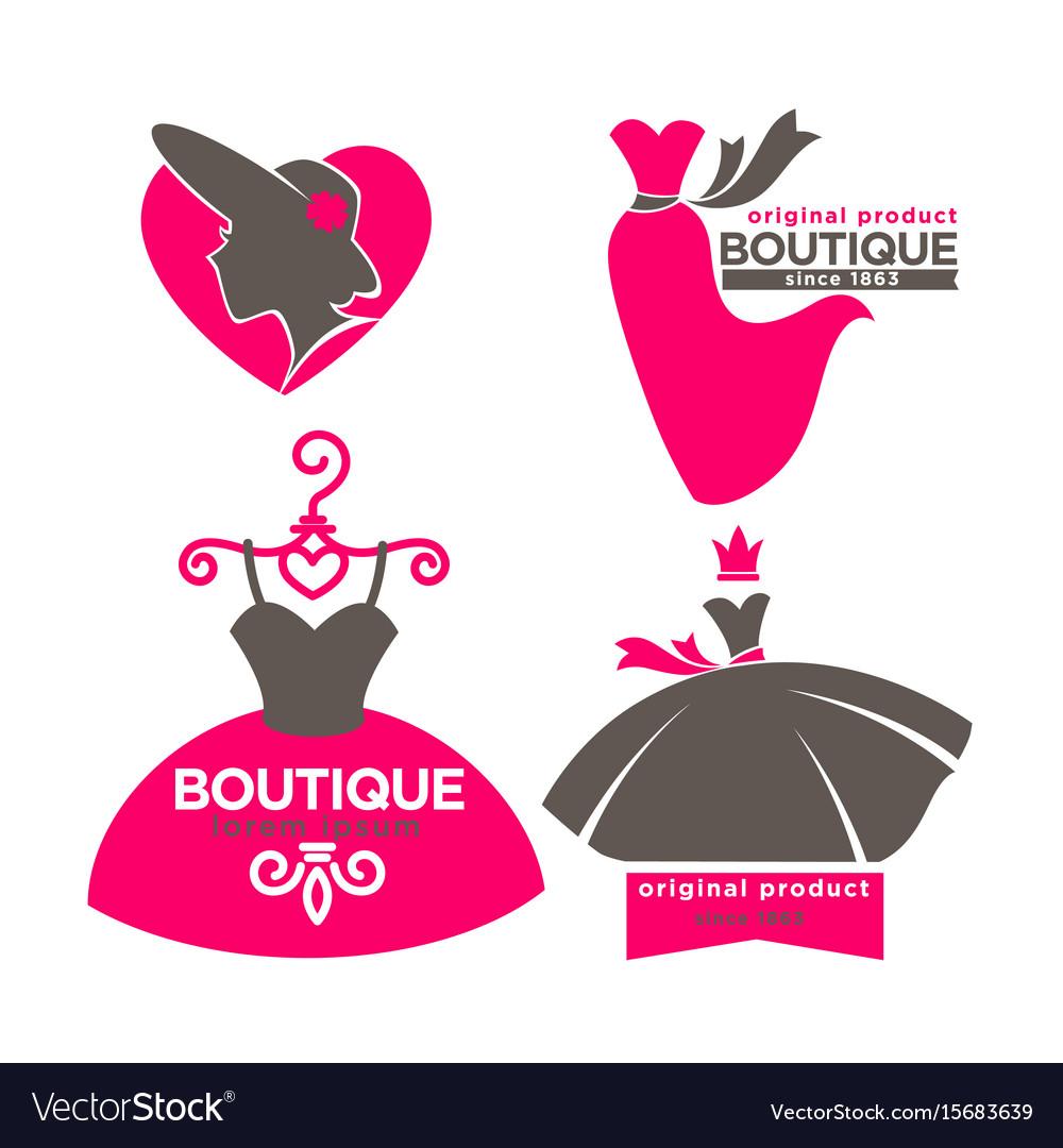Dress boutique or fashion atelier salon