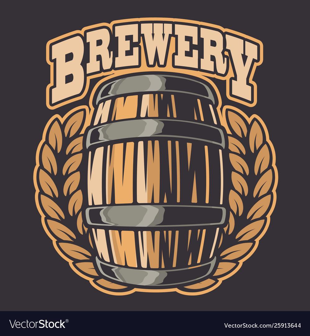 A beer barrel