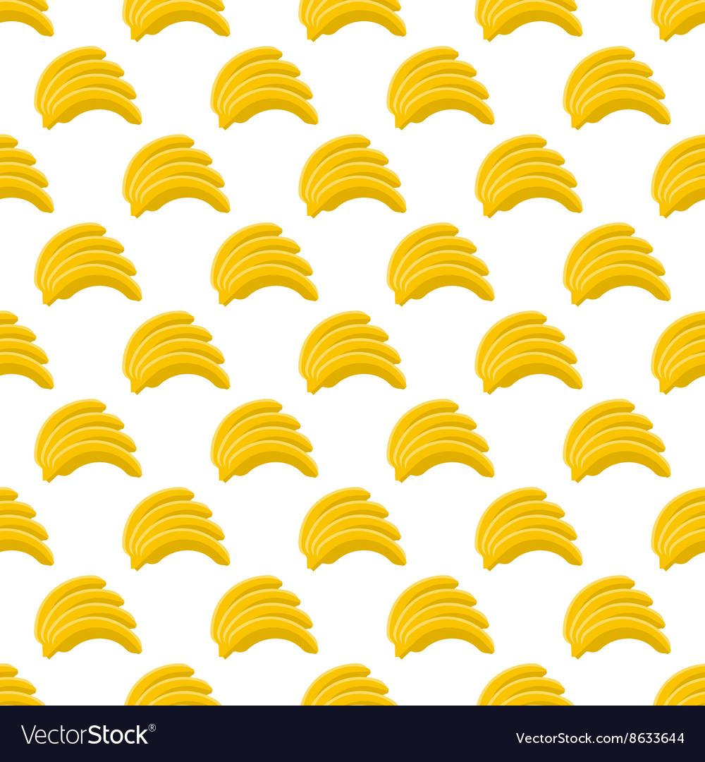 Banana pattern seamless