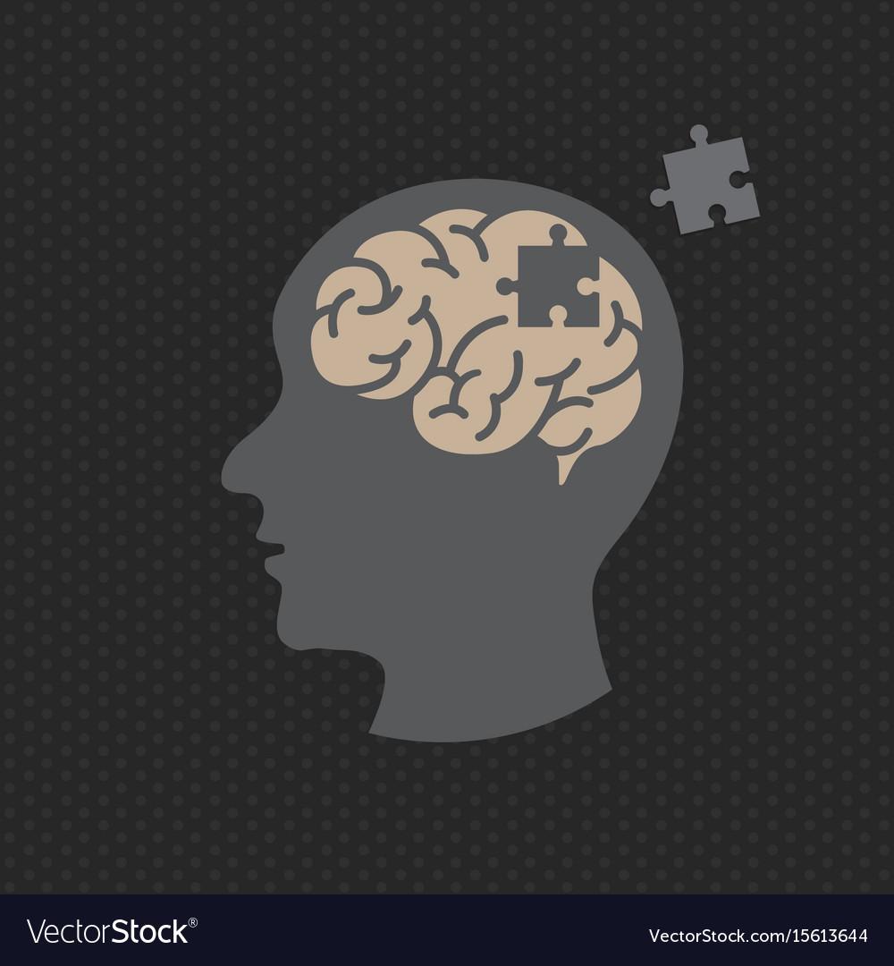 Dementia logo icon design