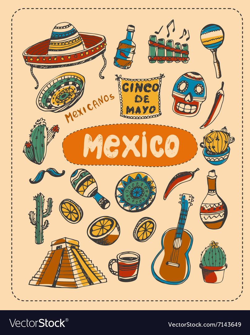 Doodle about Mexico