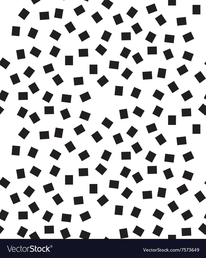 Geometric Seamless Pattern Modern Square Dots Vector Image