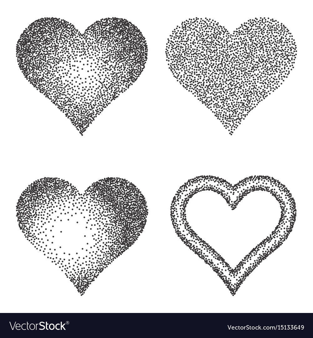 Halftone pattern or texture collection set of