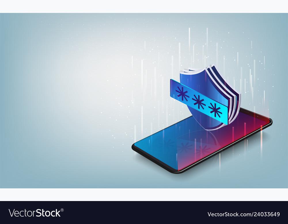 Smartphone data protection smartphone