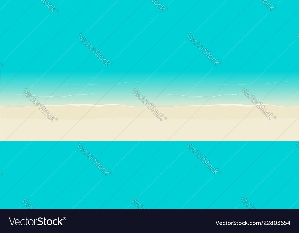 Beach background seamless top