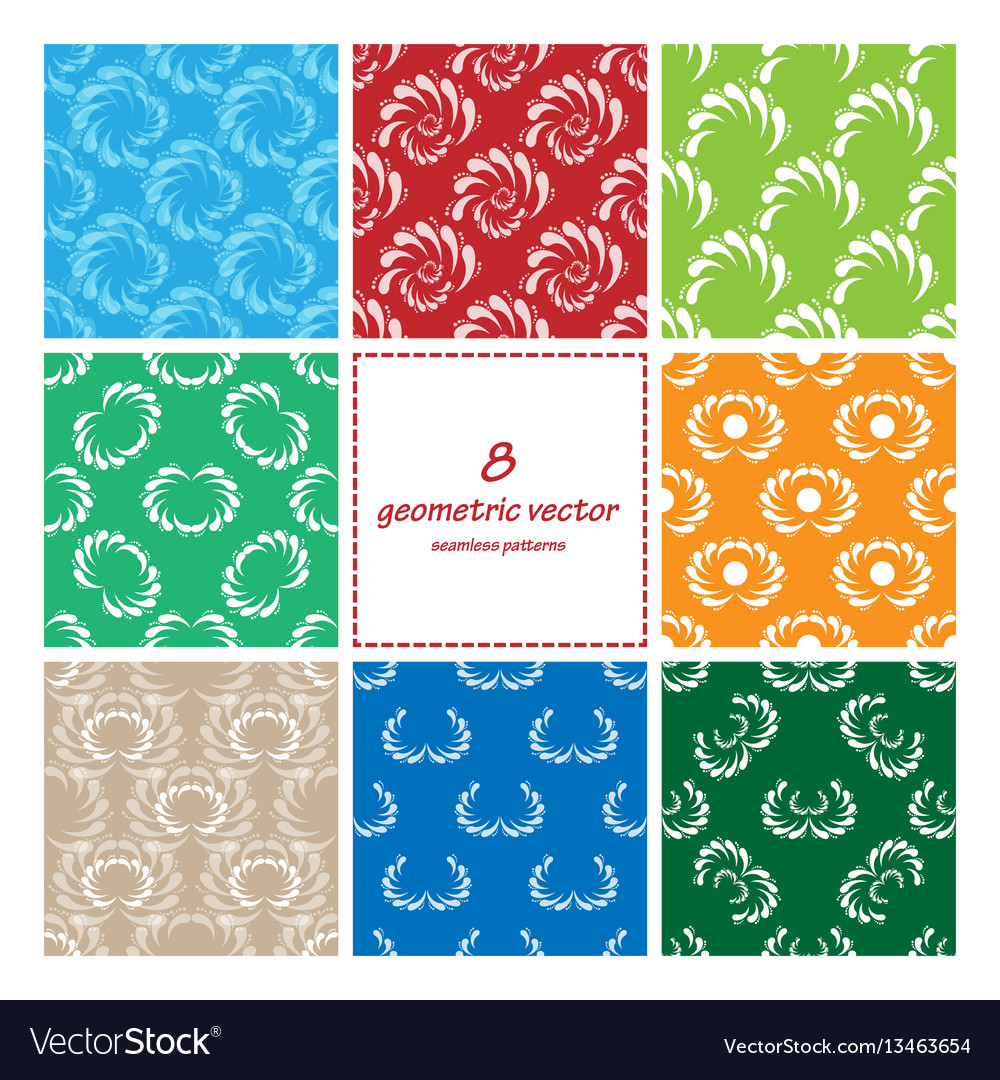 Geometric seamless set