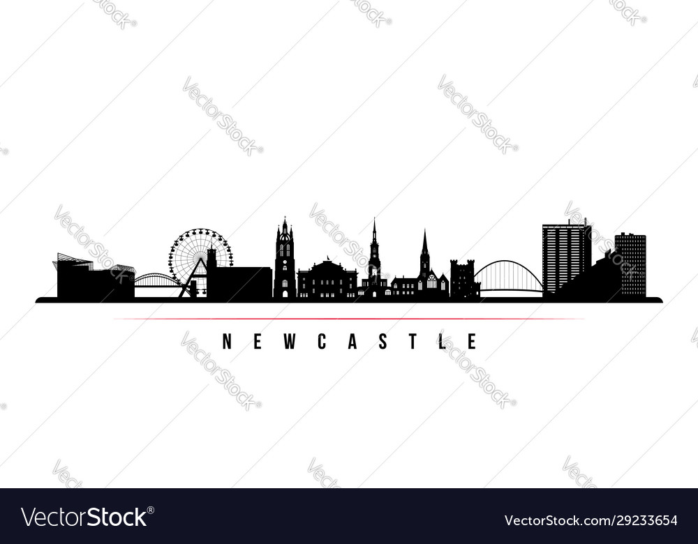 Newcastle skyline horizontal banner