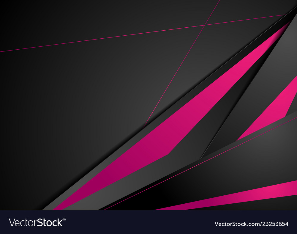 Purple and black tech corporate abstract