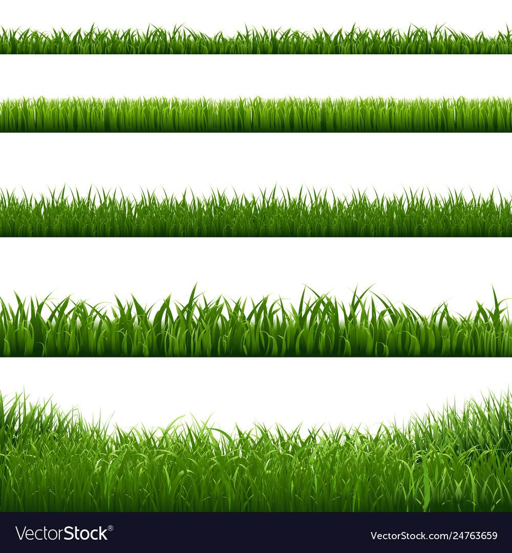 Grass frame borders
