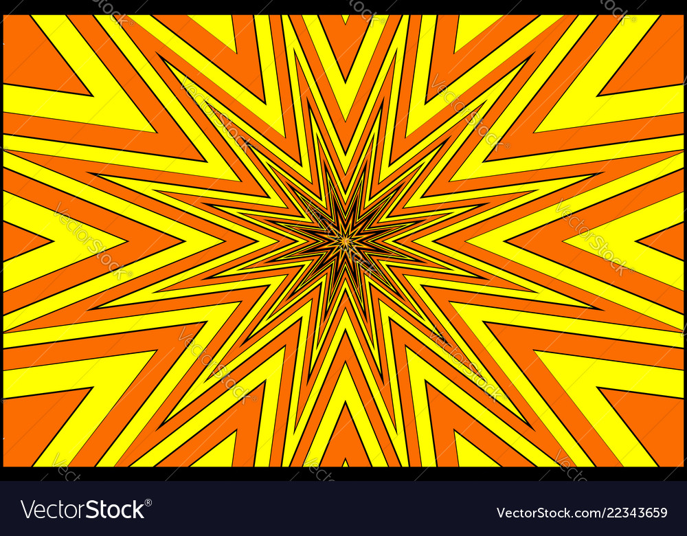 Star - abstract geometric background