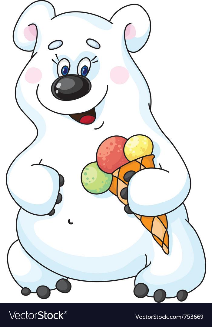 картинки медведя с мороженым они точно