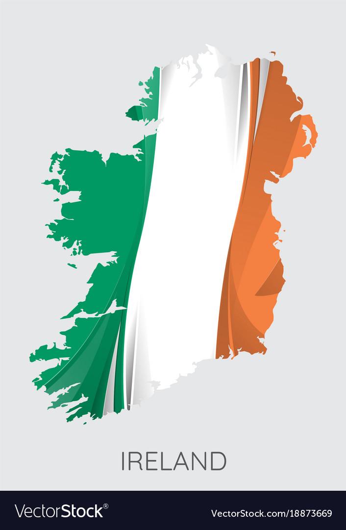 Map Of Ireland Vector.Map Of Ireland