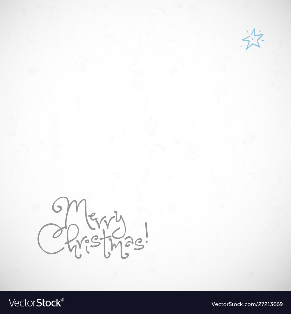 Simple and clean minimalist christmas greeting