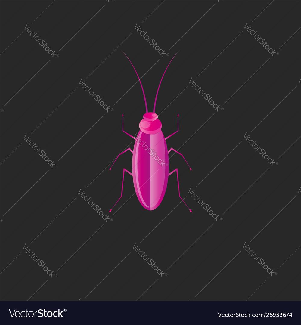 Beetle logo creative design in trend gradient