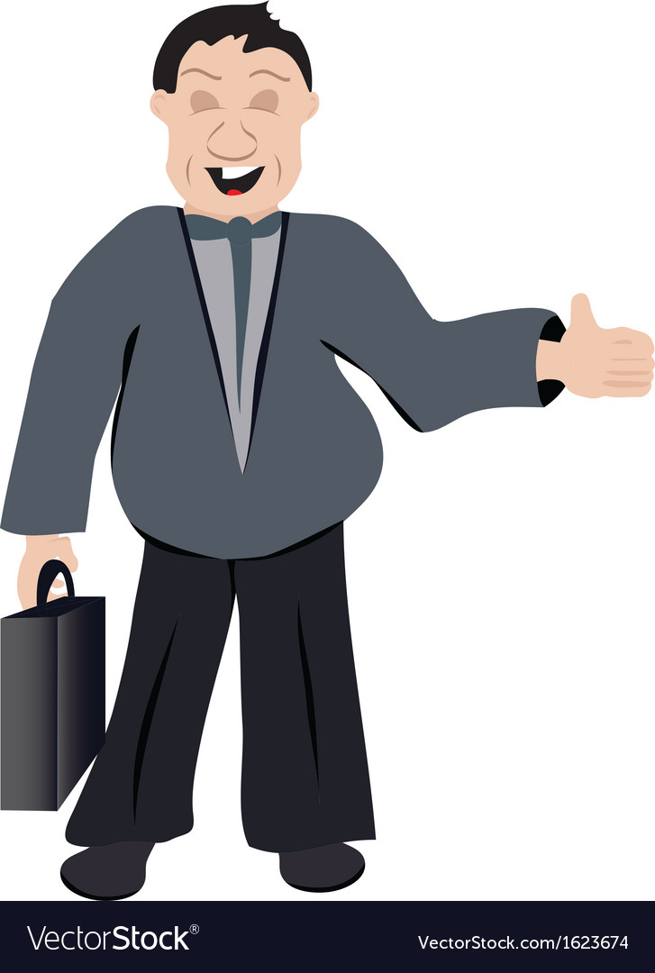 Office man vector image