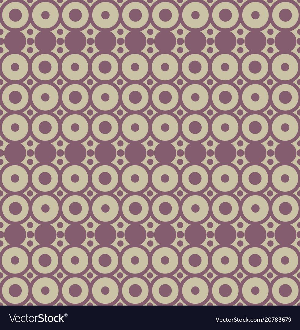 Geometric seamless pattern with circles trendy