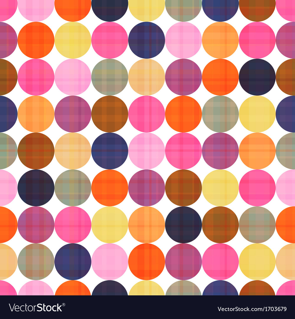 Seamless circle texture background