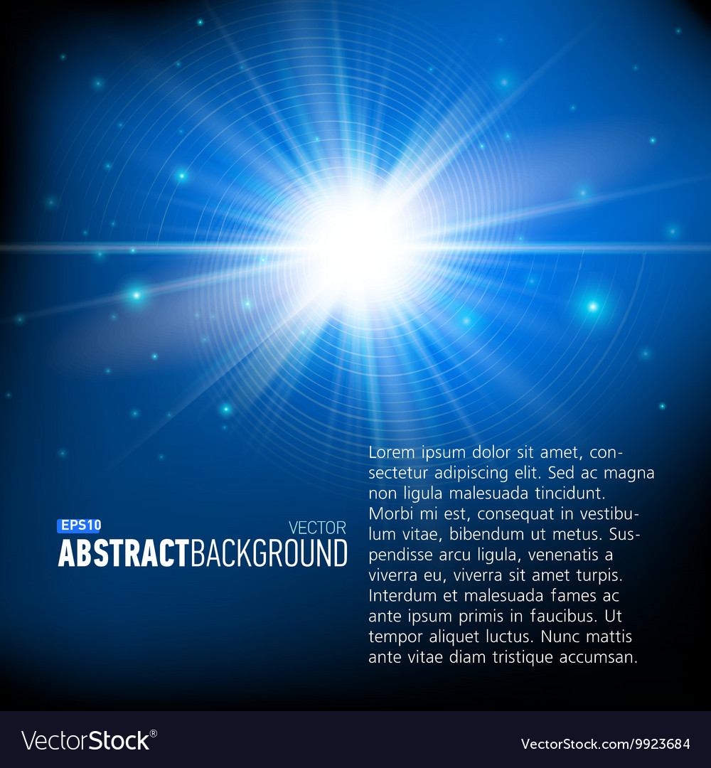 Abstract background with stars for business vector image