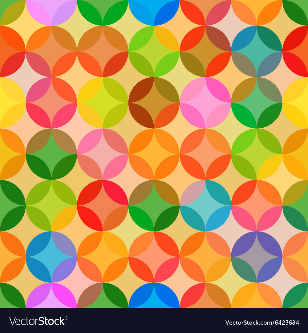 Abstract bright colors seamless pattern background vector image