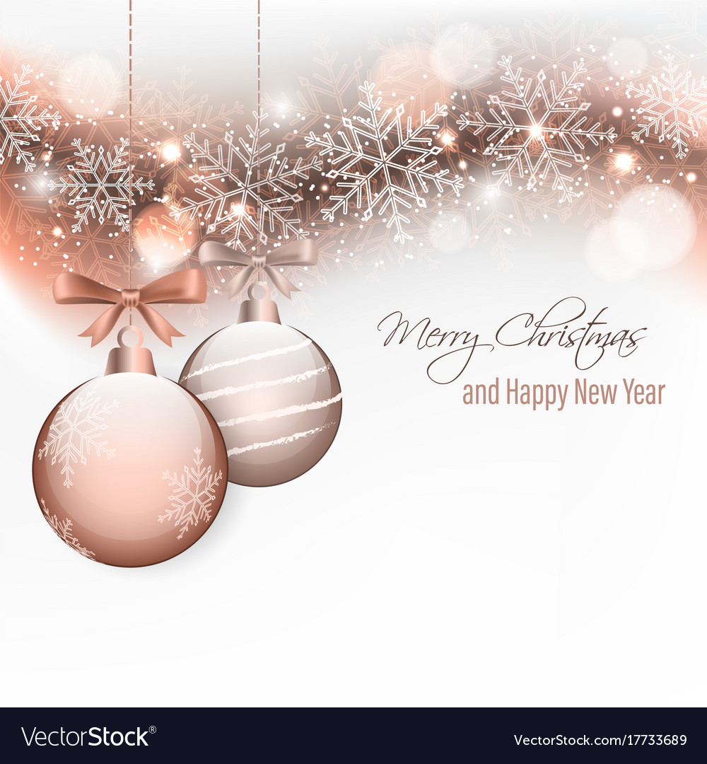 Christmas And New Year Wishes.Christmas And New Year Wishes With Hanging